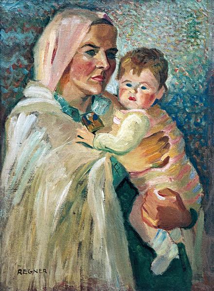Vierge à l'enfant- Jeanne et Anne