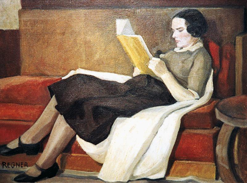 La Lecture- Jeanne lisant