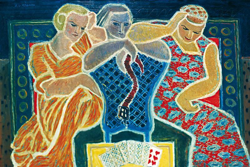Les Voyeuses- Trois figures
